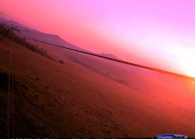 Sunrise from powerline - Luke Strugnell - EWT Eskom